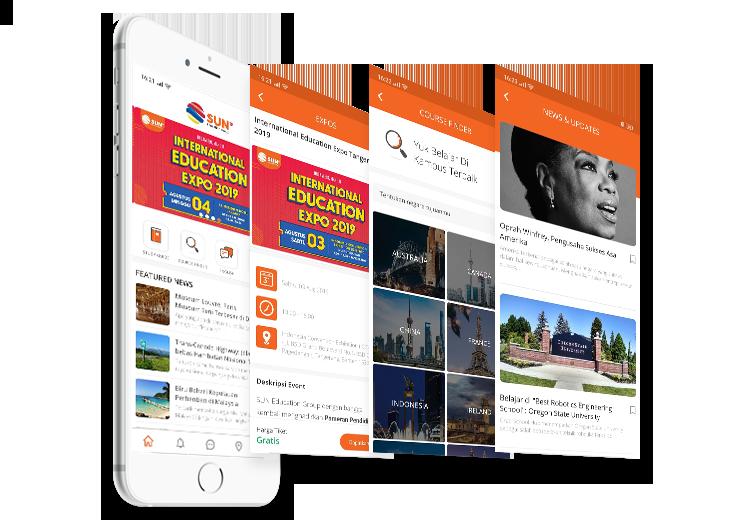 portfolio image mobile app