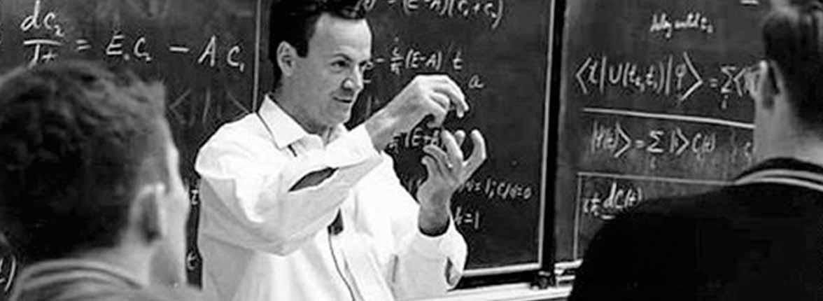 Richard Feynman cover